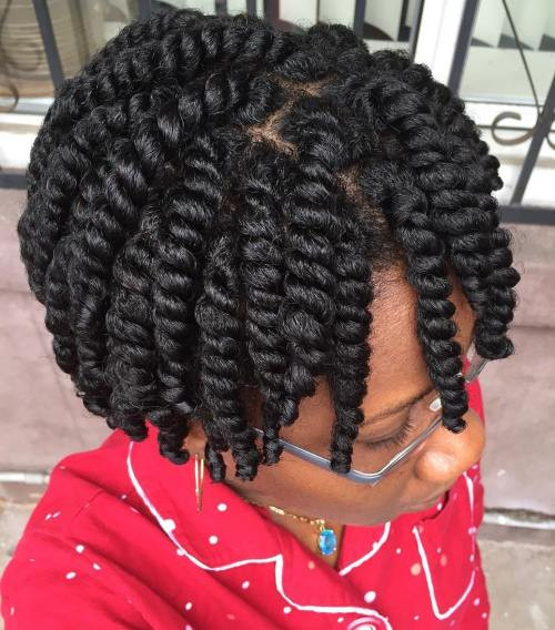 Best ideas about Easy Twist Hairstyles For Natural Hair . Save or Pin 45 Easy and Showy Protective Hairstyles for Natural Hair Now.