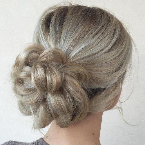 Best ideas about Easy Up Hairstyles . Save or Pin 40 Updos for Long Hair – Easy and Cute Updos for 2019 Now.