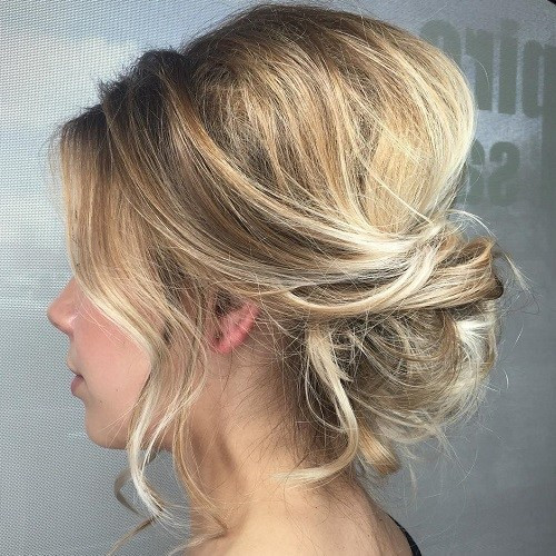 Best ideas about Easy Up Hairstyles . Save or Pin 54 Easy Updo Hairstyles for Medium Length Hair in 2017 Now.
