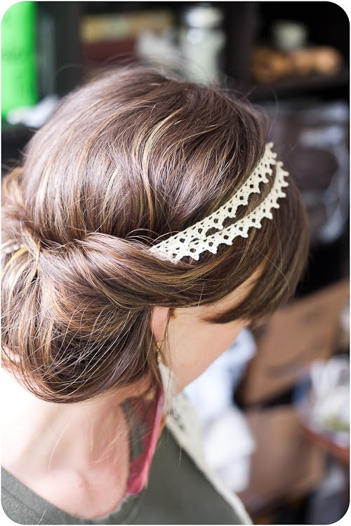 Best ideas about Easy Up Hairstyles . Save or Pin Easy Boho Up Do Hairstyle Tutorial Now.