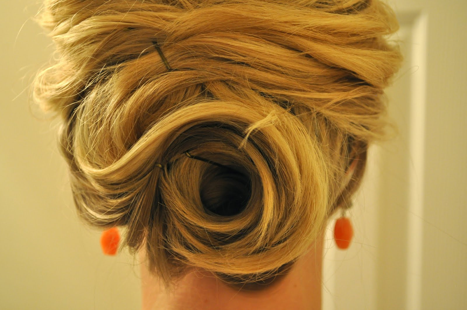 Best ideas about Easy Up Hairstyles . Save or Pin Half Up to Full Updo – The Small Things Blog Now.