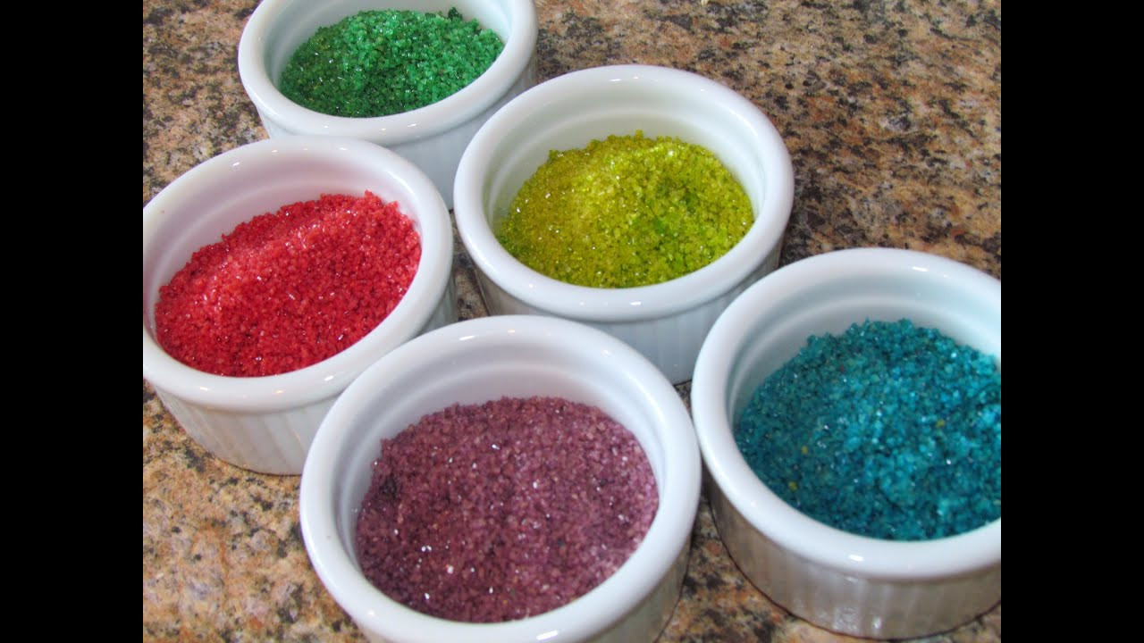 Best ideas about Edible Glitter DIY . Save or Pin How to make Sugar Sprinkles DIY Colored Sugar Edible Now.