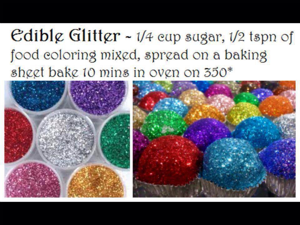 Best ideas about Edible Glitter DIY . Save or Pin DIY How to Make Edible Glitter Now.
