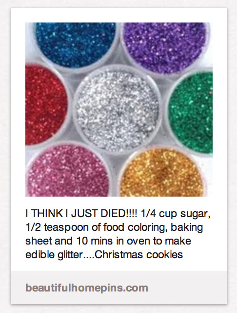 Best ideas about Edible Glitter DIY . Save or Pin how to make edible glitter We re Calling Shenanigans Now.