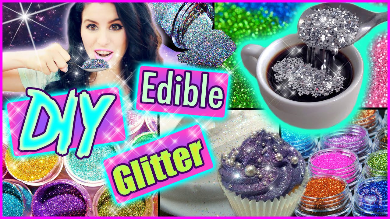 Best ideas about Edible Glitter DIY . Save or Pin DIY Edible Glitter Now.