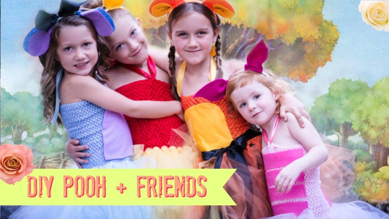 Best ideas about Eeyore Costume DIY . Save or Pin DIY Pooh Piglet Eeyore Tigger Costume NO SEW Tutu Now.