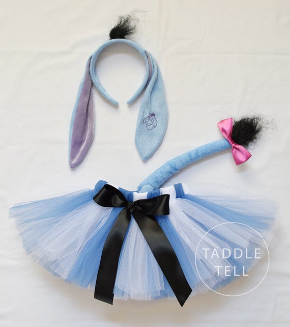 Best ideas about Eeyore Costume DIY . Save or Pin Eeyore Inspired Halloween Costume Tutu Includes by Now.