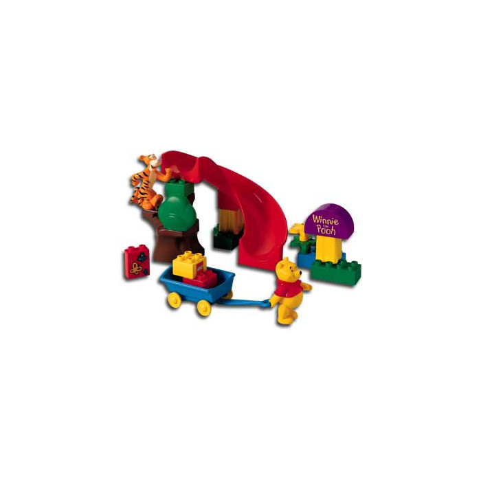 Best ideas about Eeyore's Birthday Party . Save or Pin LEGO Duplo Curve 2 x 4 x 2 with Winnie the Pooh Decoration Now.