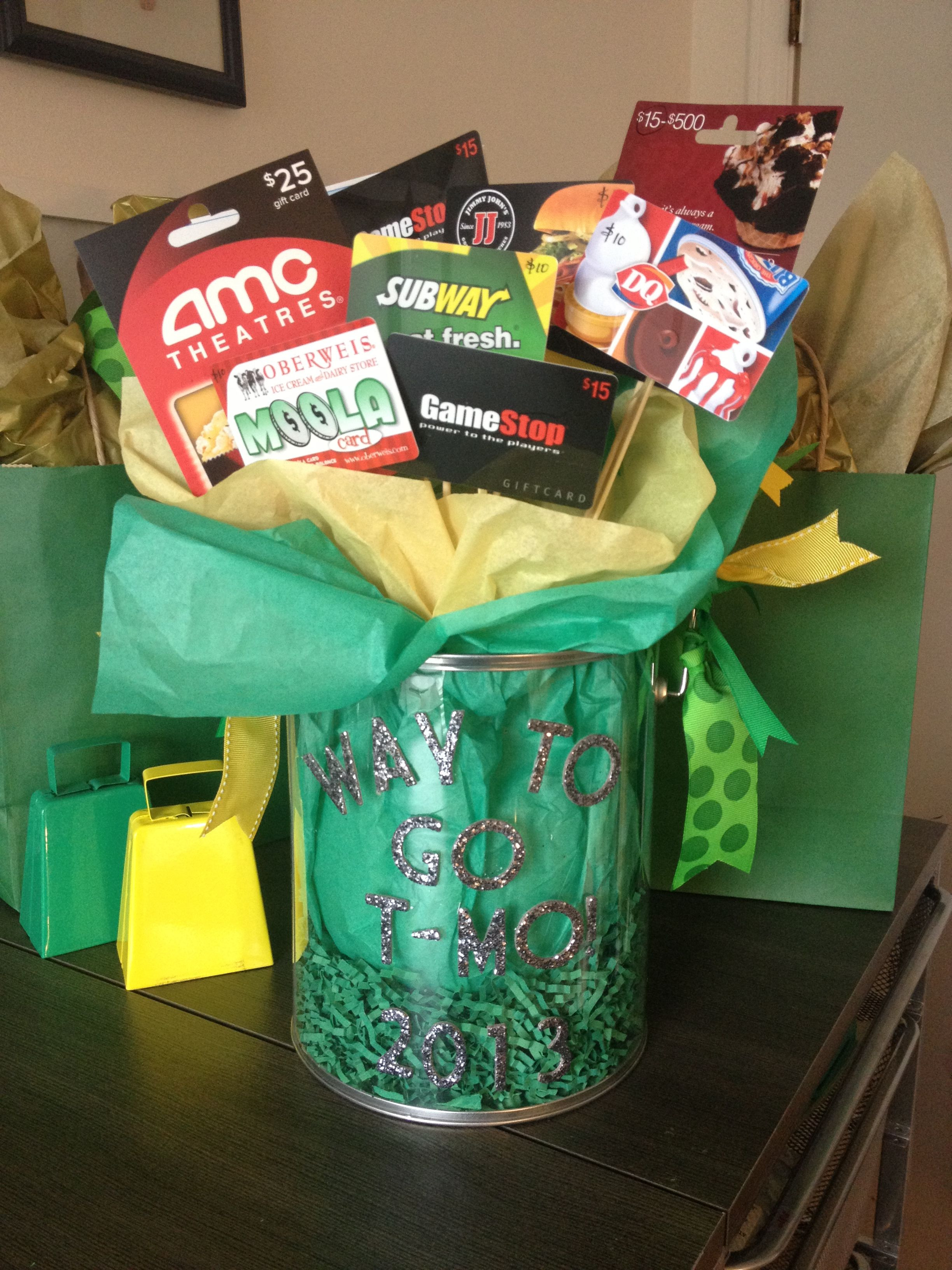 Best ideas about Eighth Grade Graduation Gift Ideas . Save or Pin Graduation t card bouquet for an 8th grade graduate Now.