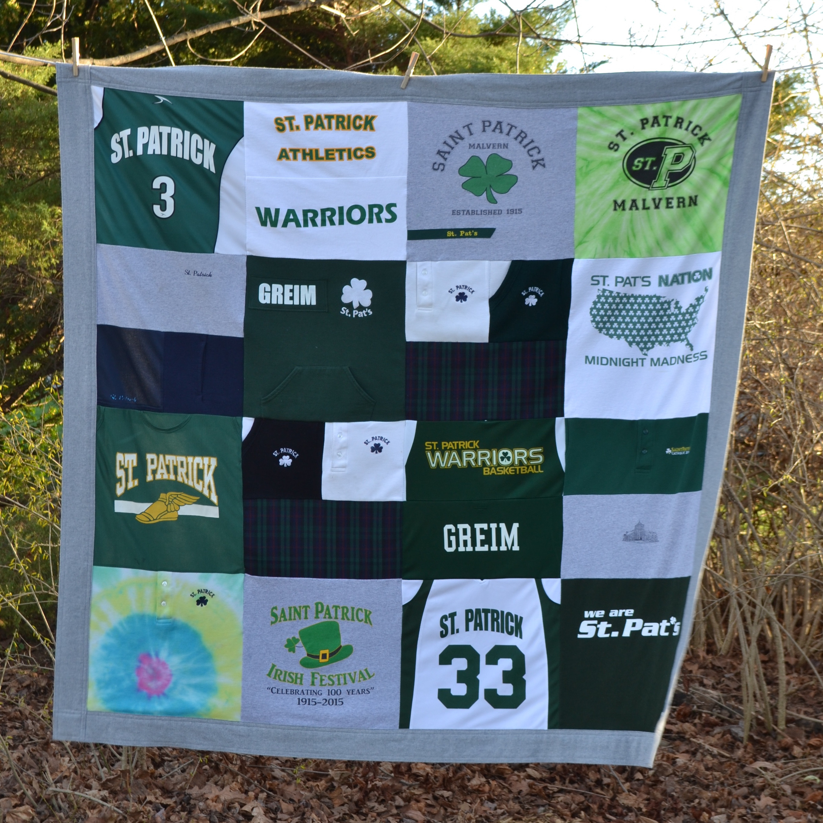 Best ideas about Eighth Grade Graduation Gift Ideas . Save or Pin memory blanket Archives ce Upon a Time Creation Now.