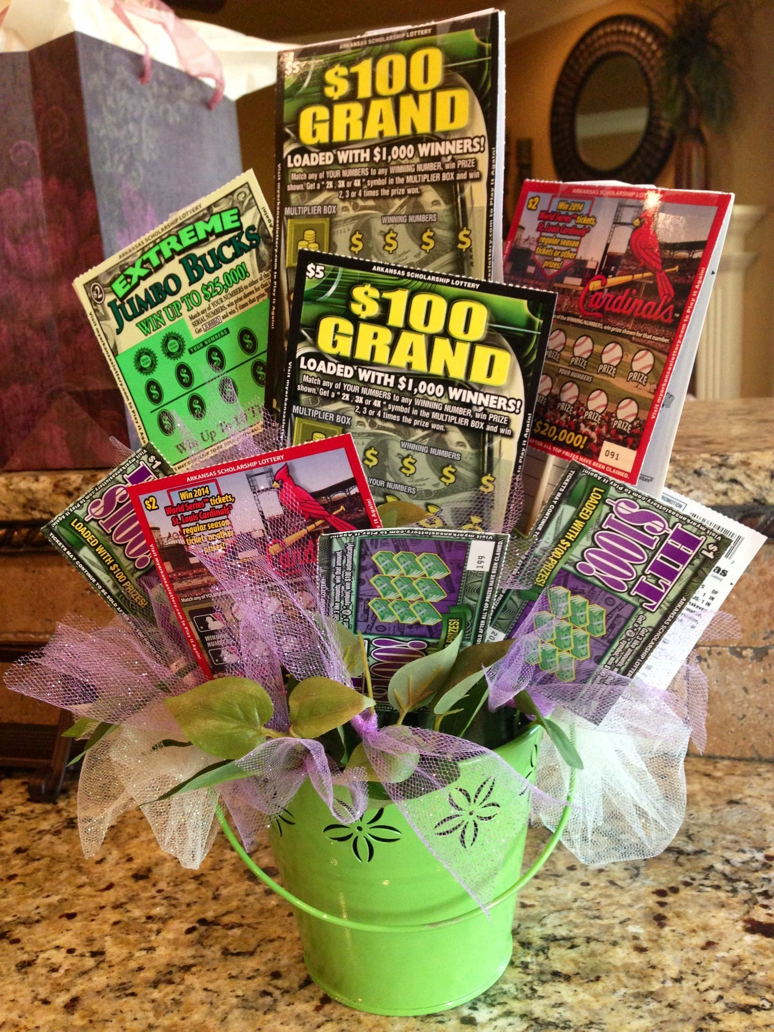 Best ideas about Elder Gift Ideas . Save or Pin For the Senior Citizen who hates flowers but LOVES lottery Now.