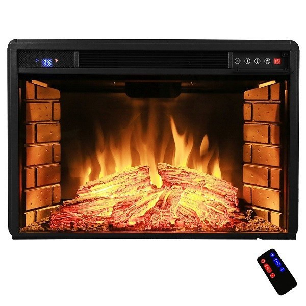 Best ideas about Electric Fireplace Insert With Heater . Save or Pin Best electric fireplace insert reviews Top 10 Consider Now.