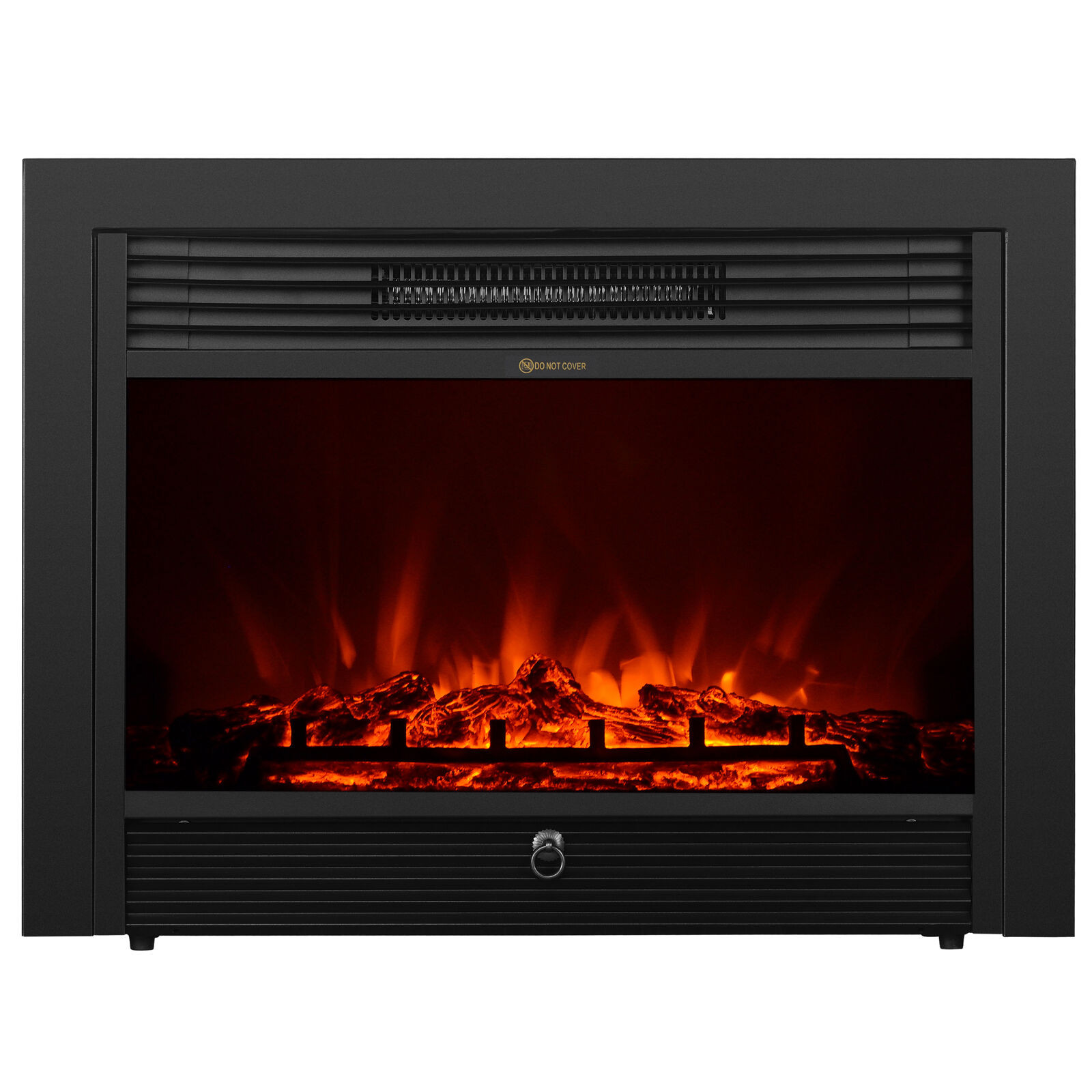 """Best ideas about Electric Fireplace Insert With Heater . Save or Pin Embedded 28 5"""" Electric Fireplace Insert Heater w Remote Now."""
