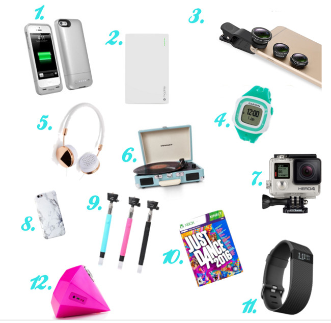 Best ideas about Electronic Birthday Gifts . Save or Pin 35 Perfect Gifts for a Teen Girl Overstuffed Now.