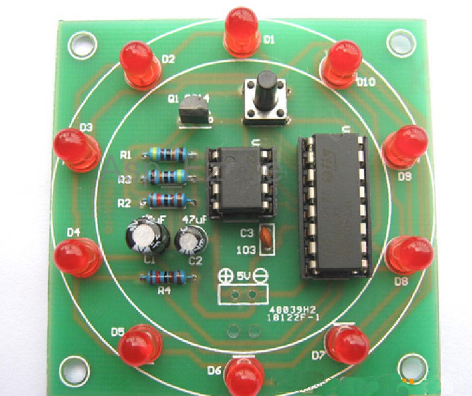 Best ideas about Electronic Birthday Gifts . Save or Pin Electronic Production LED DIY Kits Interest Funny DIY Now.