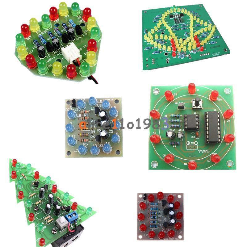 Best ideas about Electronic Birthday Gifts . Save or Pin LED DIY Kits Interest Electronic Production Funny DIY Now.