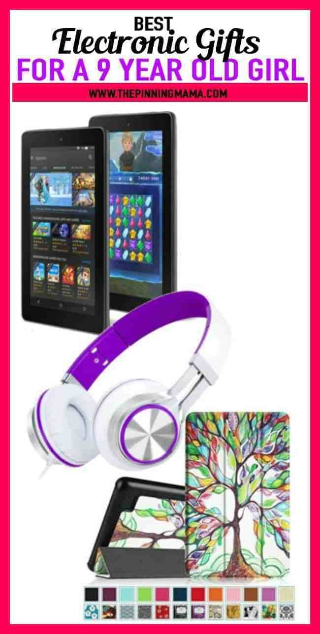 Best ideas about Electronic Birthday Gifts . Save or Pin The Ultimate Gift List for a 9 Year Old Girl Now.