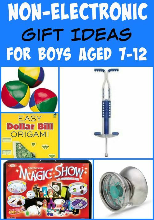 Best ideas about Electronic Gift Ideas . Save or Pin Non Electronic Gift Ideas for Boys Aged 7 12 Now.