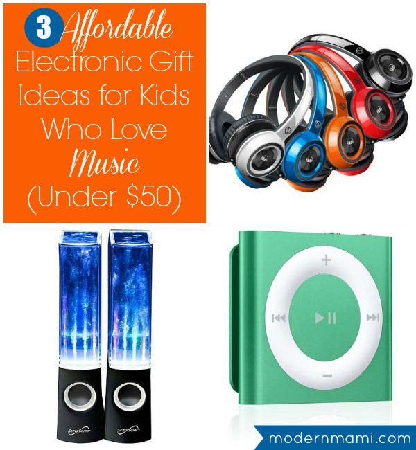Best ideas about Electronic Gift Ideas . Save or Pin 3 Affordable Electronic Gift Ideas for Kids Who Love Music Now.