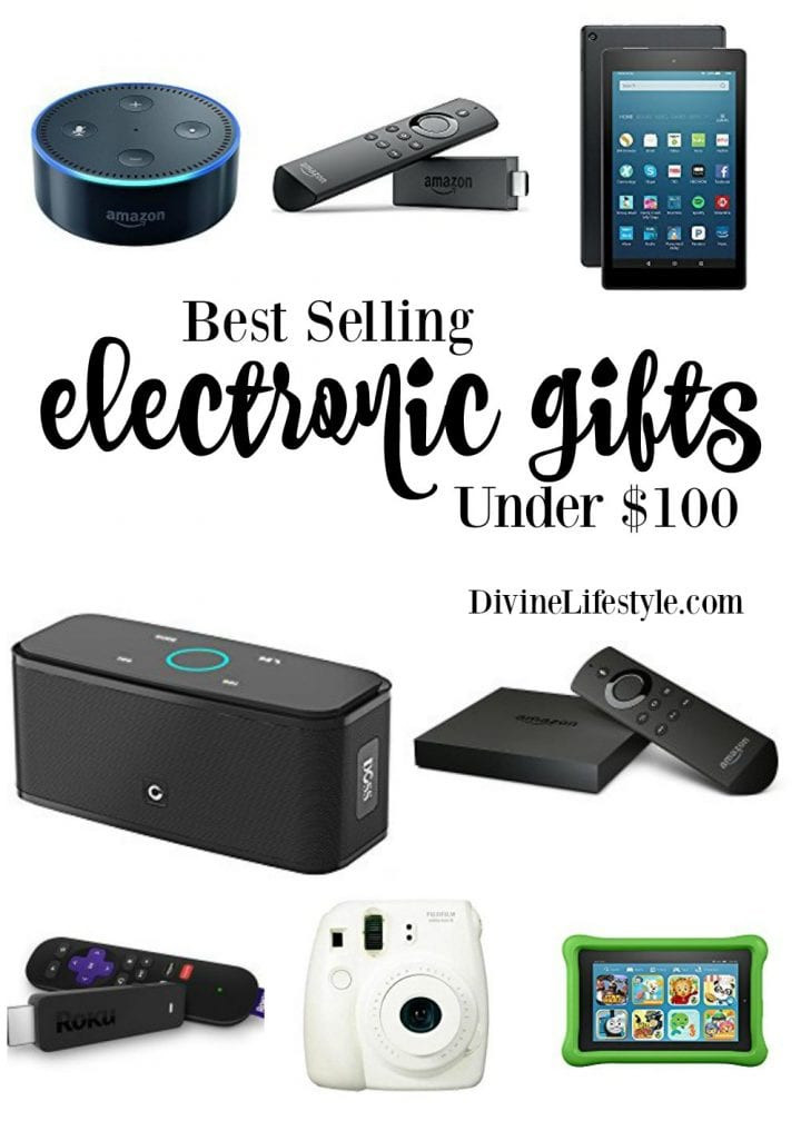 Best ideas about Electronic Gift Ideas . Save or Pin Holiday Gift Ideas Best Selling Electronics Under $100 Now.