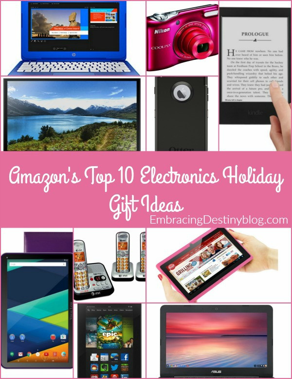 Best ideas about Electronic Gift Ideas . Save or Pin Top 10 Electronics Gift Ideas Embracing Destiny Now.