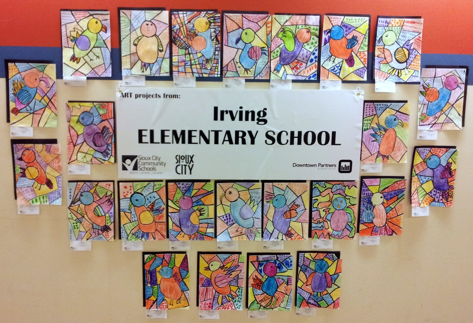 Best ideas about Elementry Art Projects . Save or Pin History and Culture by Bicycle Irving Elementary School Now.