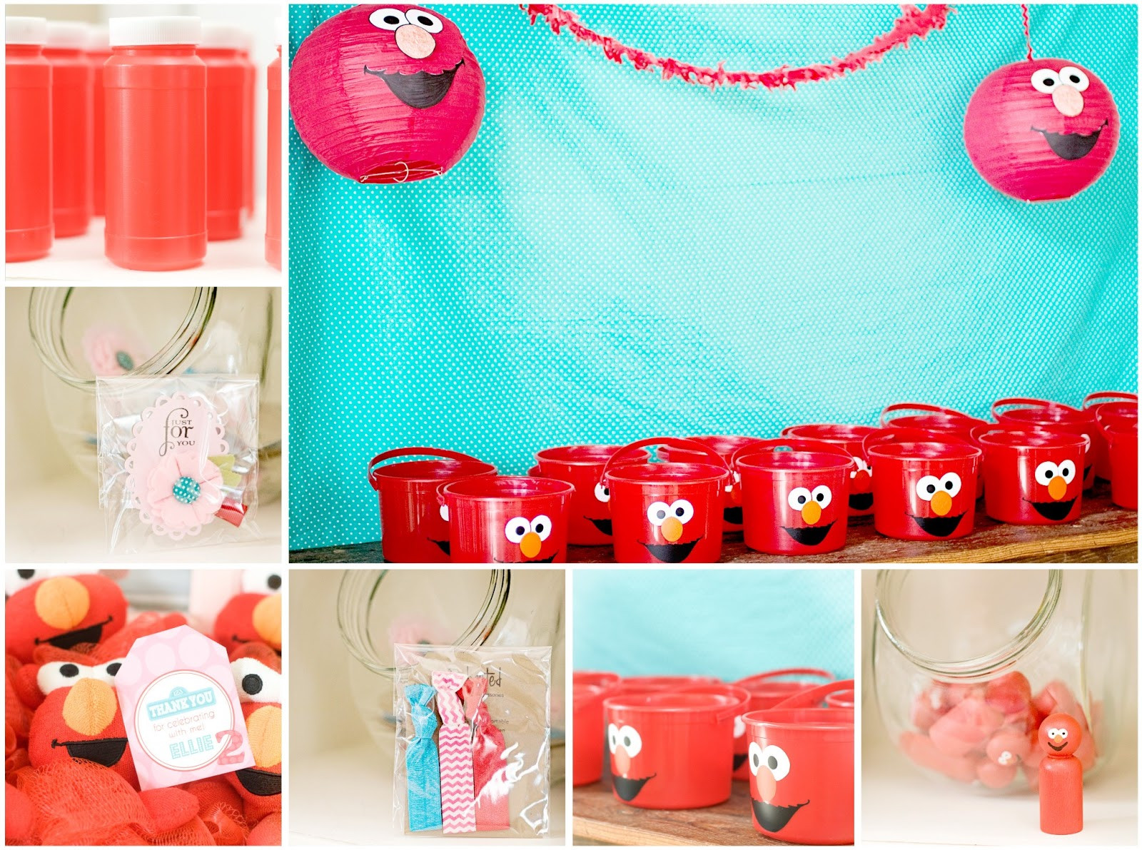 Best ideas about Elmo Birthday Decorations . Save or Pin Crafting Mama Ellie s Elmo Party Now.
