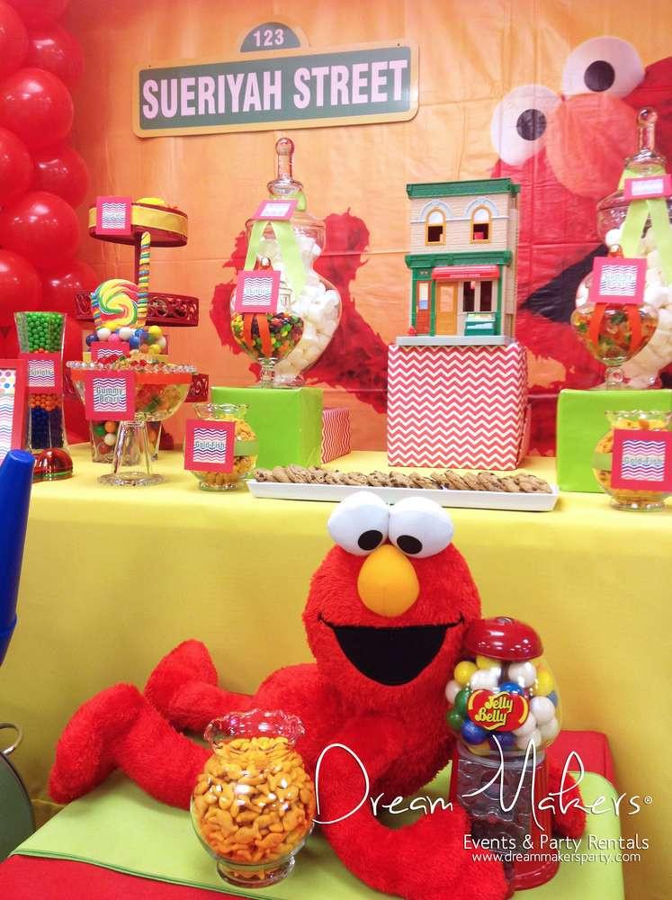 Best ideas about Elmo Birthday Decorations . Save or Pin Elmo & Sesame Street Birthday Party Ideas Now.