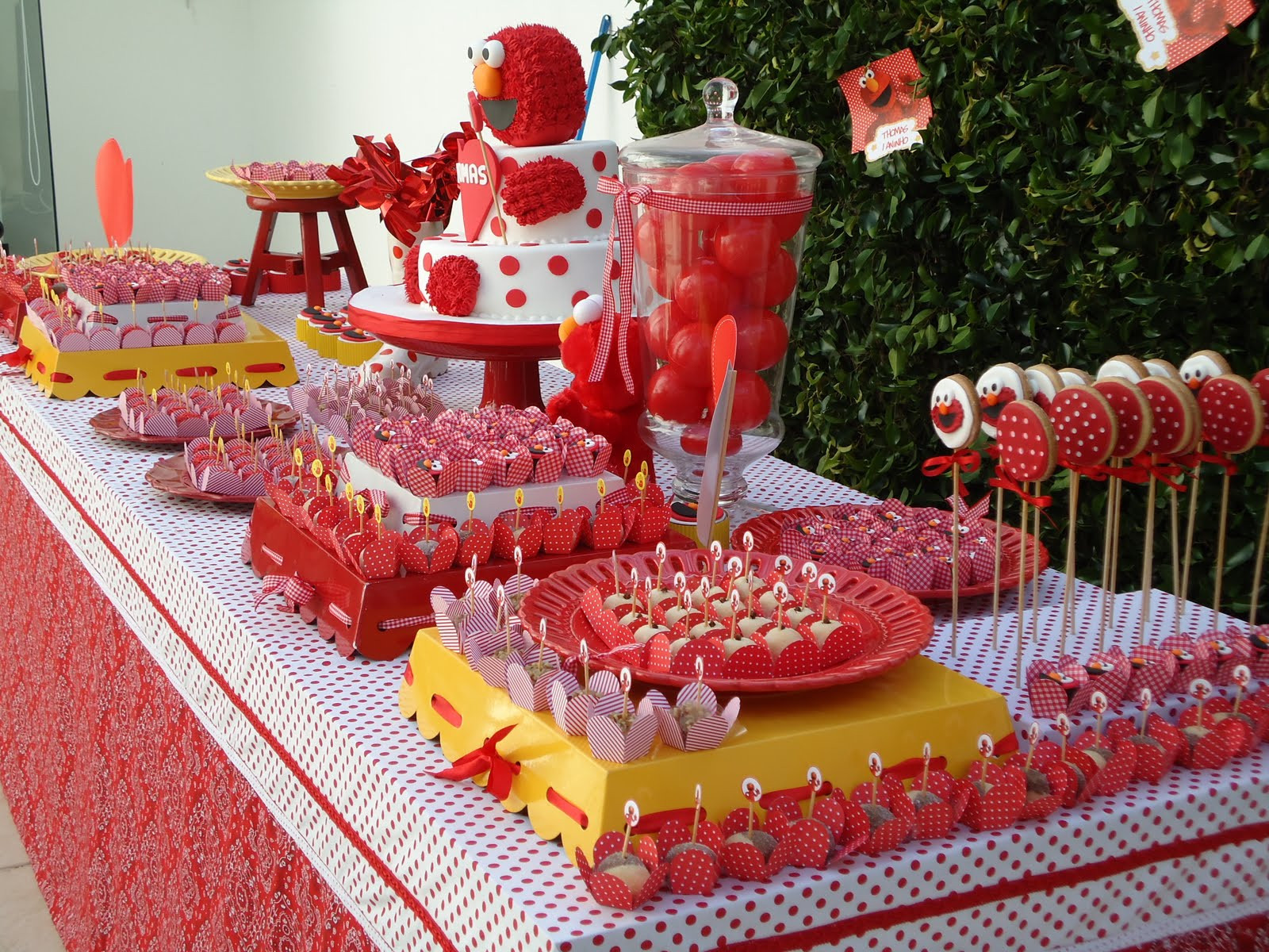 Best ideas about Elmo Birthday Decorations . Save or Pin Kara s Party Ideas Elmo Birthday Party Now.
