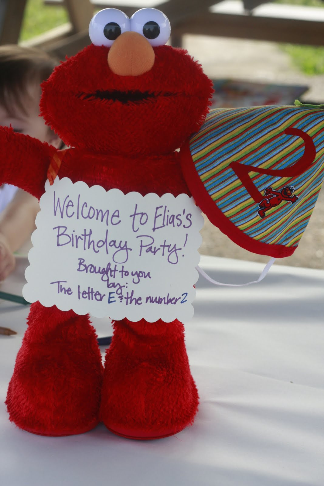 Best ideas about Elmo Birthday Decorations . Save or Pin Elias s Elmo Birthday Party The Mom Creative Now.