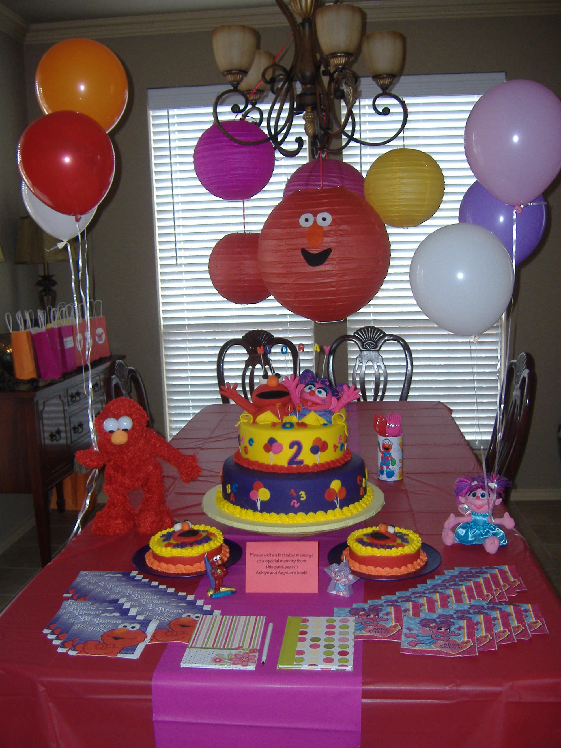 Best ideas about Elmo Birthday Decorations . Save or Pin Elmo and Abby Party Now.
