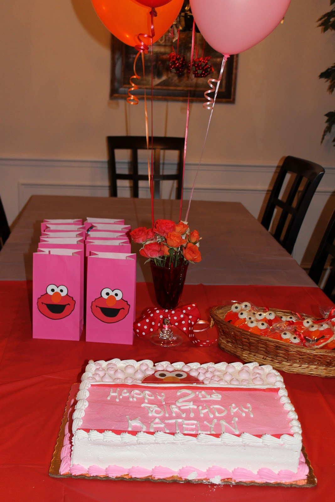 Best ideas about Elmo Birthday Decorations . Save or Pin Desperate Craftwives Elmo Birthday Party Now.