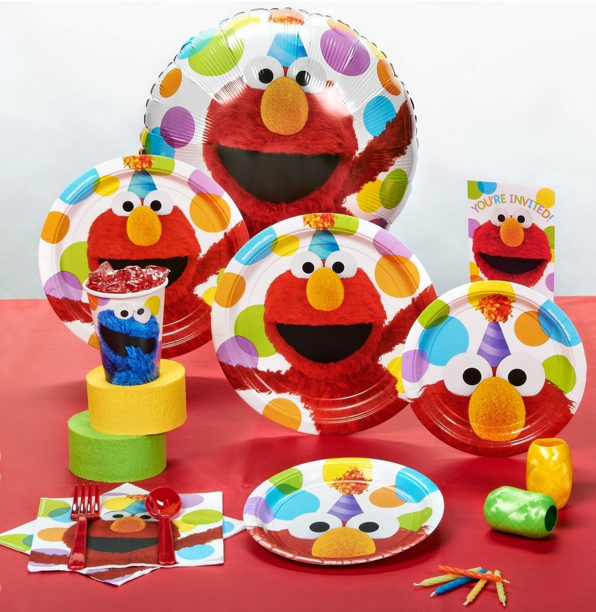 Best ideas about Elmo Birthday Decorations . Save or Pin Elmo Themed Birthday Party Idea Now.