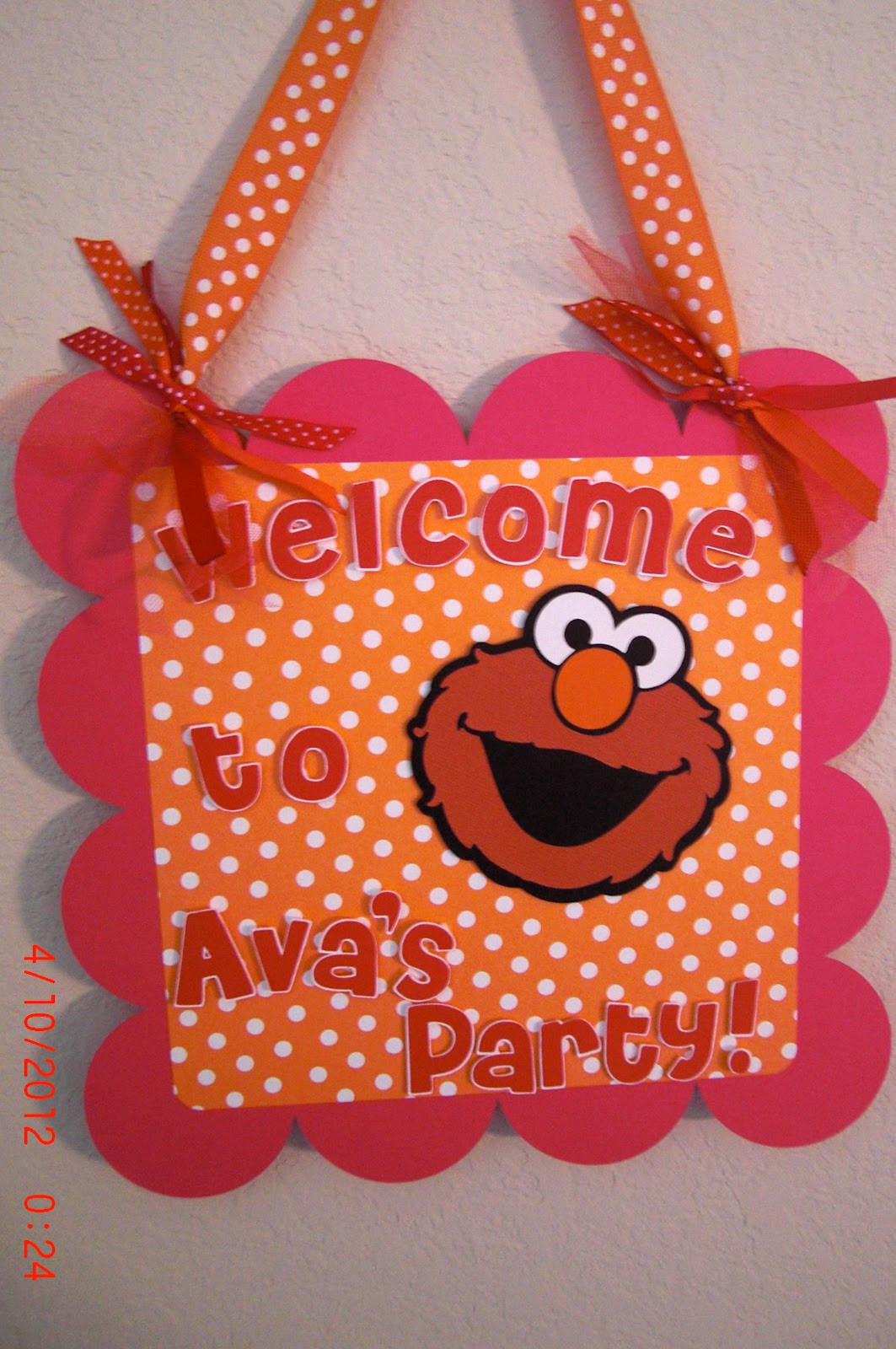 Best ideas about Elmo Birthday Party . Save or Pin Mitzs Creations New Elmo Party Items Now.