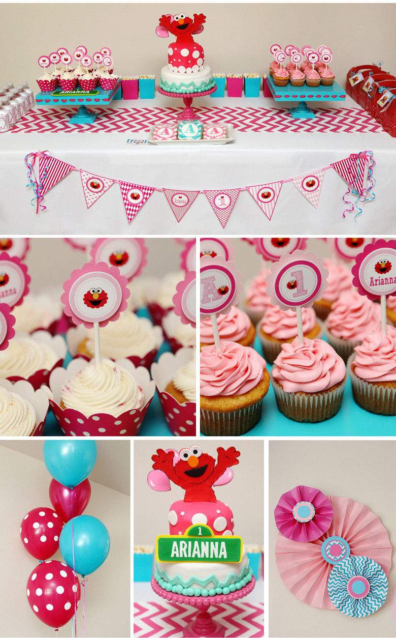 Best ideas about Elmo Birthday Party . Save or Pin Arianna s First Birthday Girly Elmo Party nicole is Now.