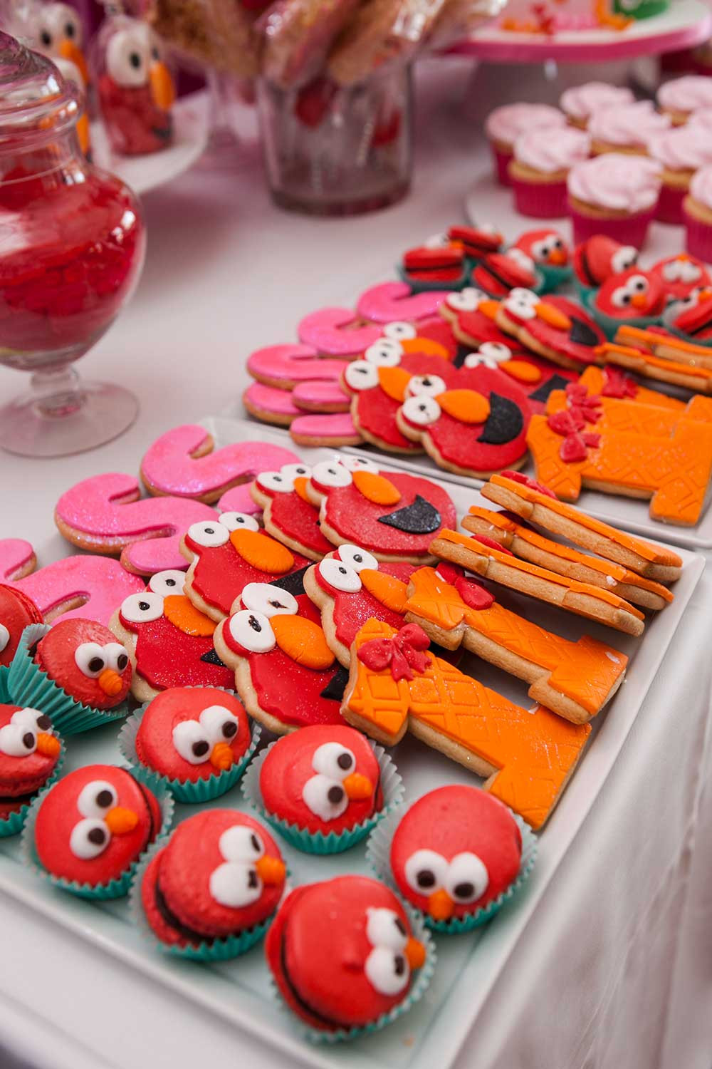 Best ideas about Elmo Decorations For 1st Birthday . Save or Pin Elmo Themed First Birthday Party The Celebration Society Now.