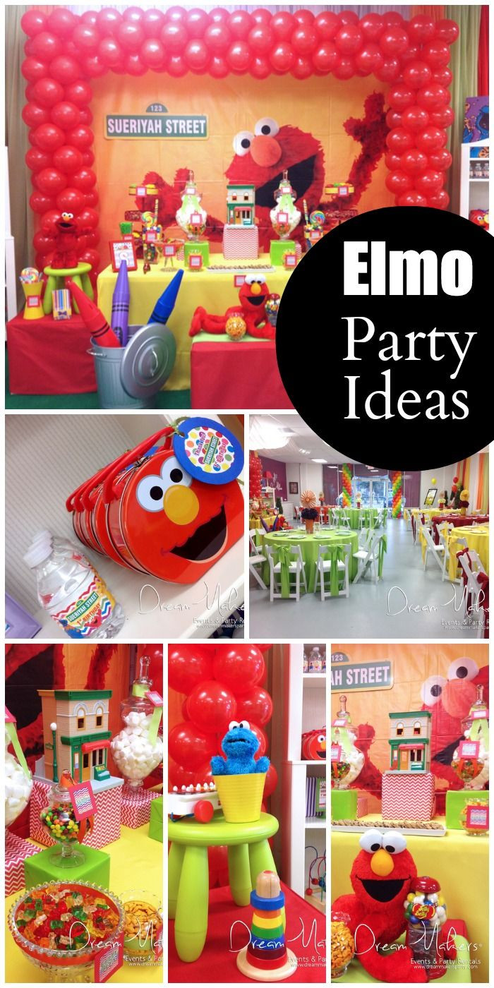 Best ideas about Elmo Decorations For 1st Birthday . Save or Pin Southern Blue Celebrations Sesame Street Party Ideas Now.