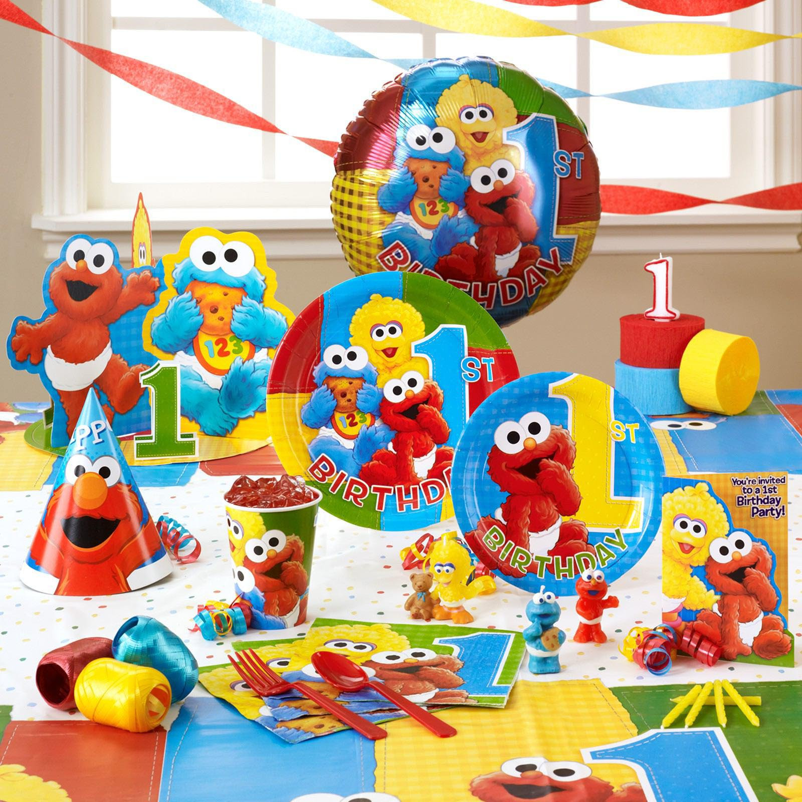 Best ideas about Elmo Decorations For 1st Birthday . Save or Pin Elmo Birthday Party Tips Now.