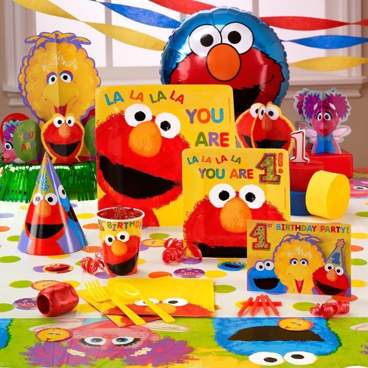 Best ideas about Elmo Decorations For 1st Birthday . Save or Pin Elmo 1st Birthday 1st Birthday Now.