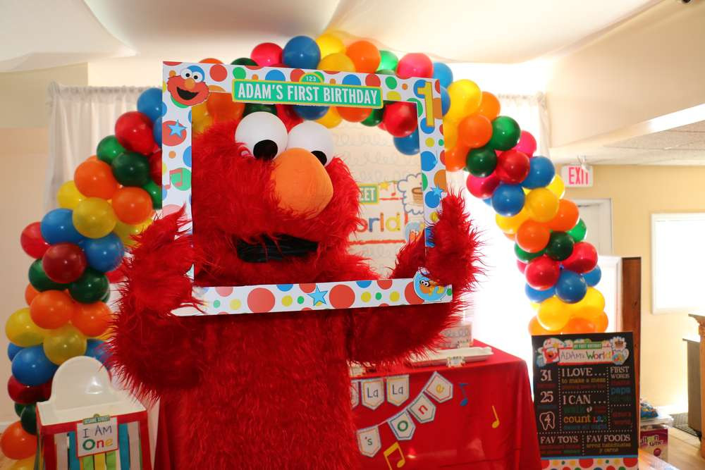 Best ideas about Elmo Decorations For 1st Birthday . Save or Pin Elmo s World Birthday Party Ideas 6 of 14 Now.
