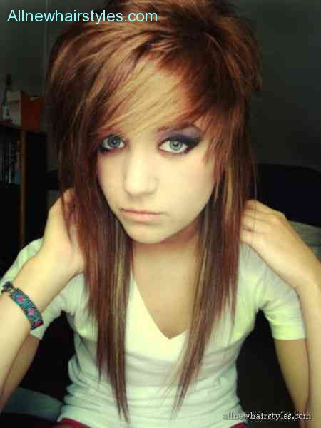 Best ideas about Emo Hairstyles For Girls . Save or Pin Emo hairstyles for girls 2015 AllNewHairStyles Now.