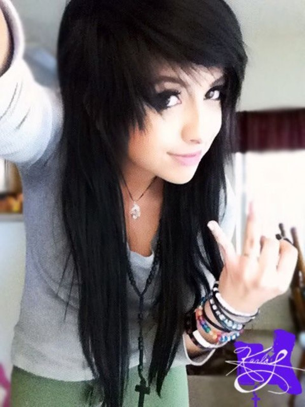 Best ideas about Emo Hairstyles For Girls . Save or Pin Emo Hairstyles For Girls The Xerxes Now.