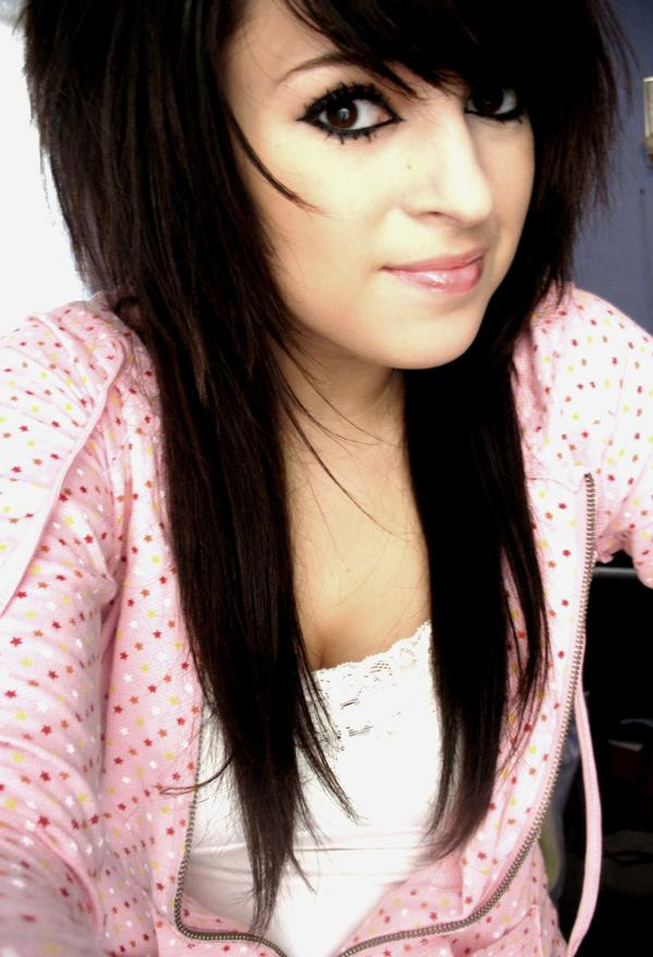Best ideas about Emo Hairstyles For Girls . Save or Pin Emolutions Girls Emo Hairstyle Long Hair Now.