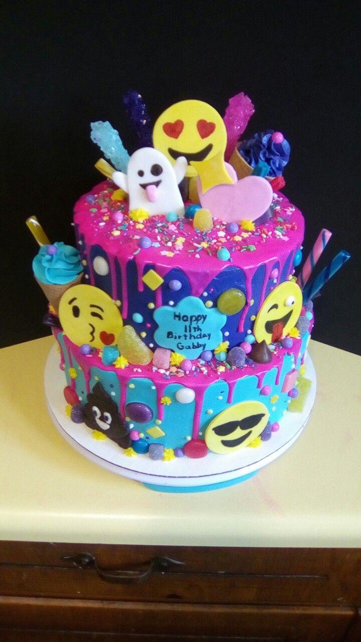 Best ideas about Emoji Birthday Cake . Save or Pin 17 Best ideas about Emoji Cake on Pinterest Now.