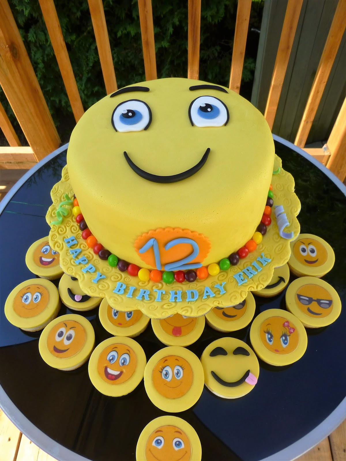 Best ideas about Emoji Birthday Cake . Save or Pin CakeSophia Emoji cake Now.