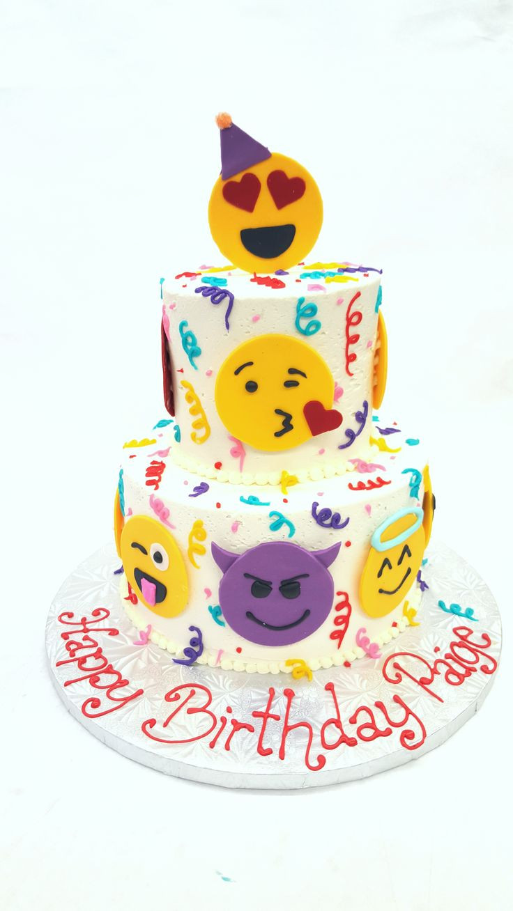 Best ideas about Emoji Birthday Cake . Save or Pin Southern Blue Celebrations EMOJI CAKES Now.
