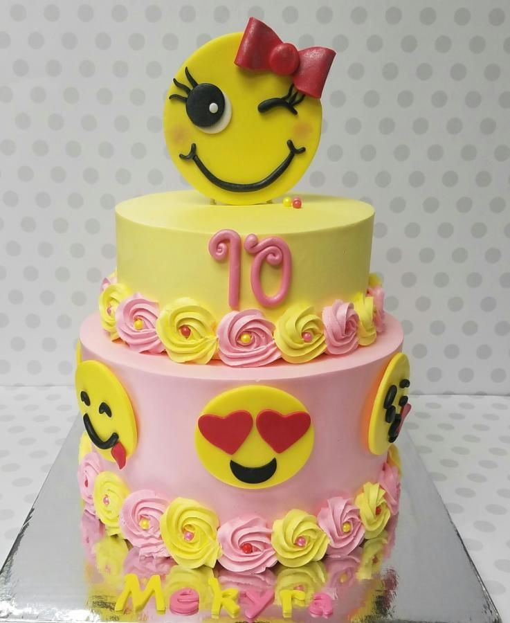 Best ideas about Emoji Birthday Cake . Save or Pin Emoji cake Cake by Pastry Bag Cake Co But in blue for my Now.