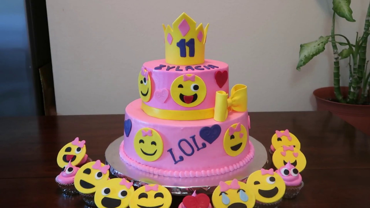 Best ideas about Emoji Birthday Cake . Save or Pin Emoji Faces Cake Emoji s Party Ideas Now.