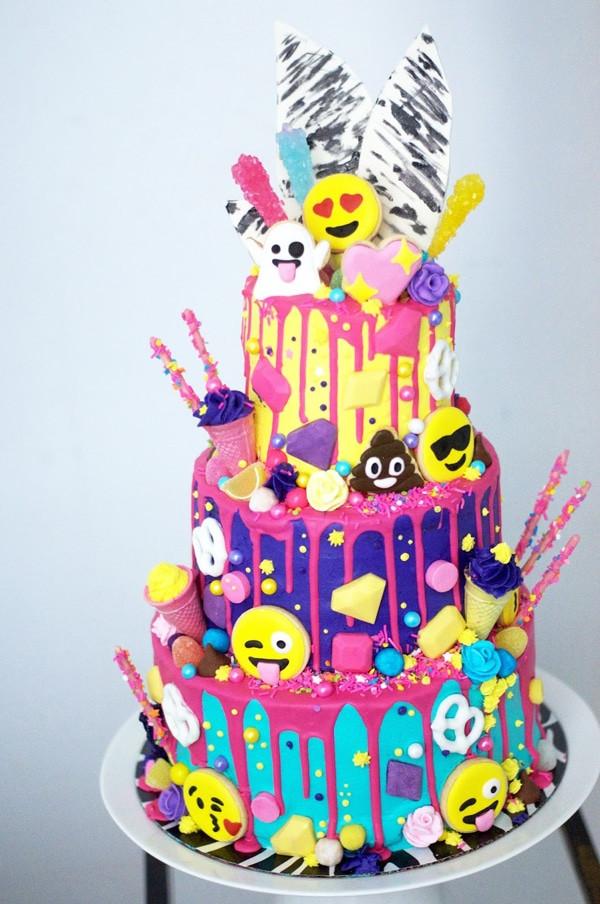 Best ideas about Emoji Birthday Cake . Save or Pin 30 Emoji Birthday Party Ideas Pretty My Party Now.