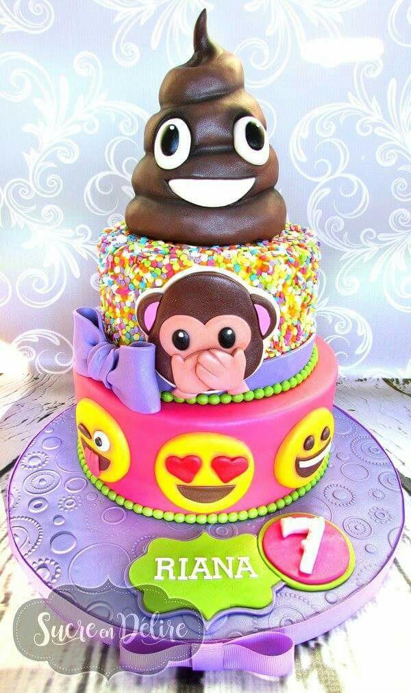 Best ideas about Emoji Birthday Cake . Save or Pin 11 OMG Emoji Cake Ideas That Will Get The Thumbs Up Now.